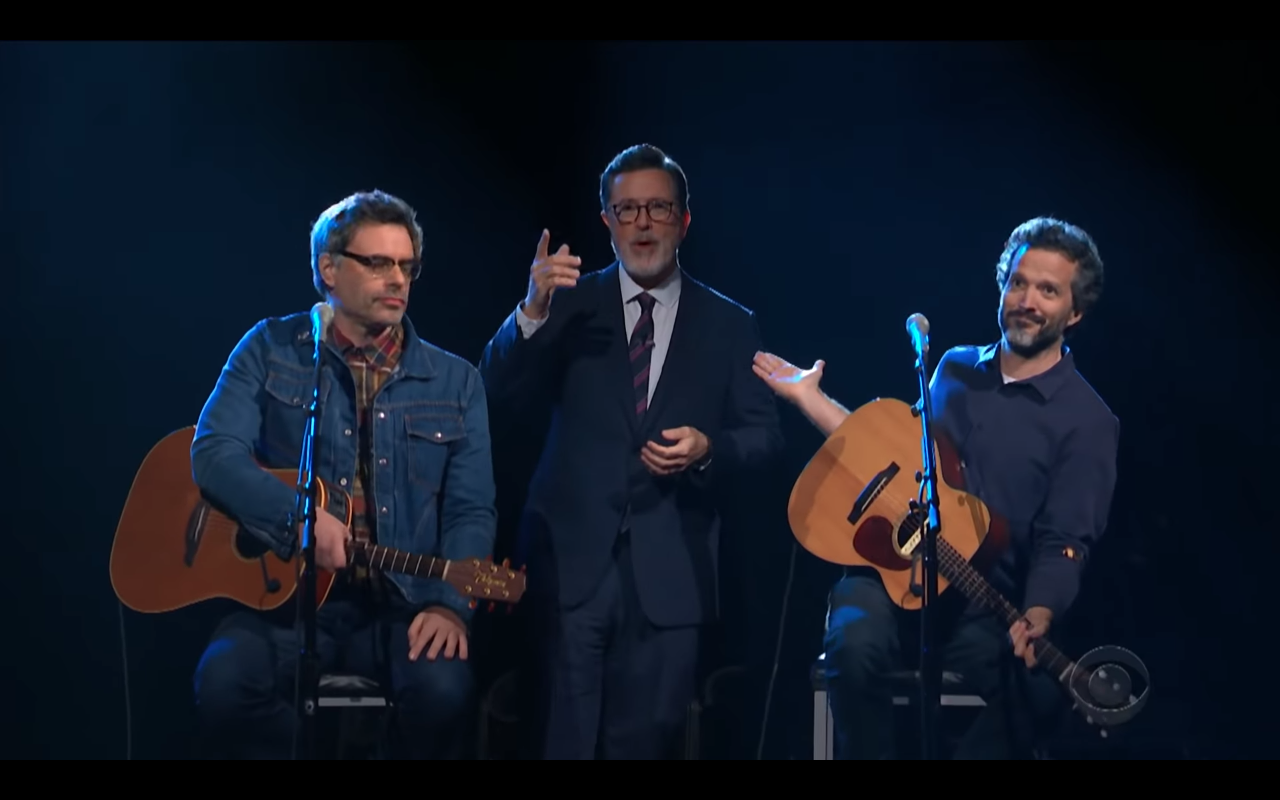 Flight Of The Conchords Interviewed Play New Song On Colbert