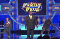 Watch Steve Harvey Respond To Pusha T In A <em>Family Feud</em> Freestyle