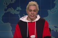 Watch Pete Davidson Describe Life With Ariana Grande On <em>SNL</em>&#8217;s Weekend Update