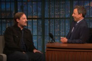 Watch Sturgill Simpson Talk Working On A Railway, Making His Acting Debut On <em>Seth Meyers</em>