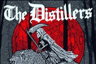 "The Distillers – ""Man Vs. Magnet"" & ""Blood In Gutters"""