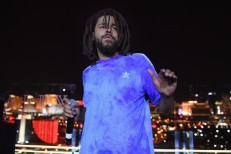 J.Cole Surprise Performance at Apex Social Club at Palms Casino Resort