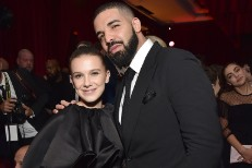Millie Bobby Brown & Drake
