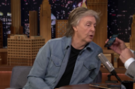 Watch Paul McCartney Do A Whole Lot On <em>Fallon</em> + Stream His New Album <em>Egypt Station</em>
