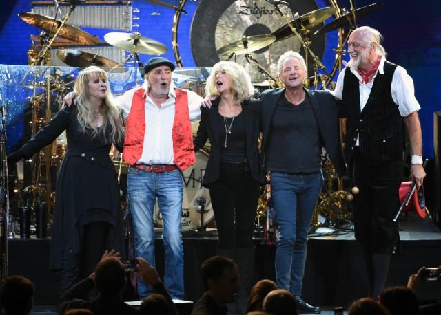 Stevie Nicks, John McVie, Christine McVie, Lindsey Buckingham, Mick Fleetwood