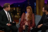 Watch Florence + The Machine Sing &#8220;Patricia&#8221; &#038; Talk About Animal Costumes On <em>James Corden</em>