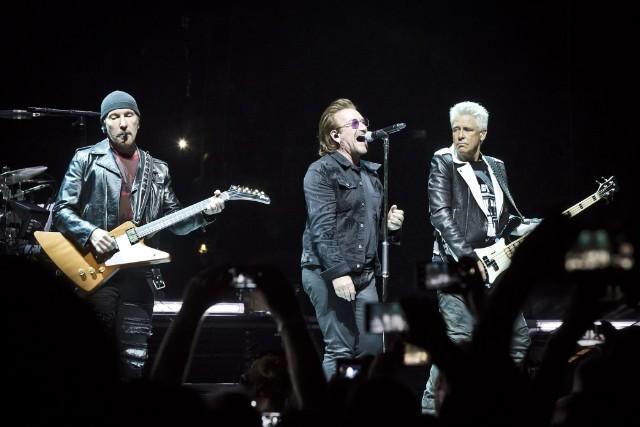 U2 Perform In Berlin