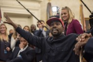 "Kanye Gave Impromptu ""Keynote Address"" At DC Apple Store After White House Visit"