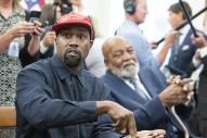 Kanye West Designs Shirts For 'Blexit' Campaign, Urging Black Voters To Leave Democratic Party