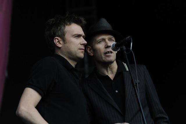 Damon Albarn & Paul Simonon