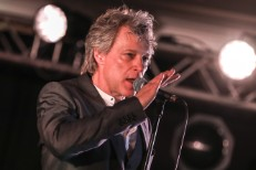 Jon Bon Jovi Performs At A VIP Dinner Party Hosted By iHeartMedia