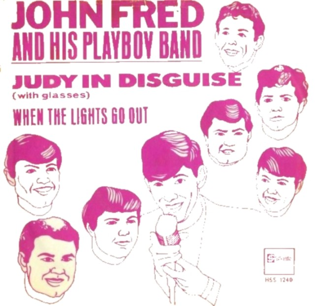 John-Fred-And-His-Playboy-Band-Judy-In-Disguise-With-Glasses