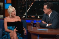 Watch Lady Gaga Talk About Brett Kavanaugh&#8217;s Looming Supreme Court Confirmation On <em>Colbert</em>