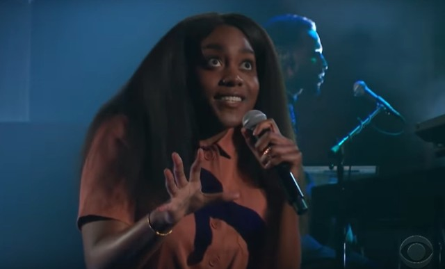 Noname Performs Charming 'Room 25' Medley On 'Colbert