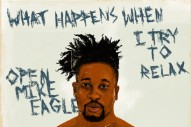Stream Open Mike Eagle&#8217;s New Project <i>What Happens When I Try To Relax</i>