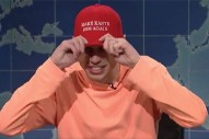 "Pete Davidson Calls Out Kanye For Post-<em>SNL</em> Political Speech: ""Where's The Album?"""