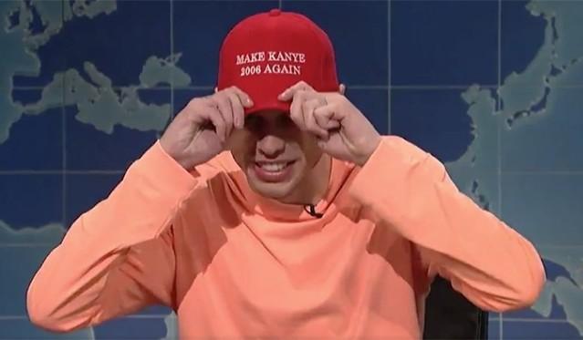 SNL: Pete Davidson Slams Kanye West's Pro-Trump Rant On 'Weekend