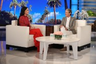 Kacey Musgraves Returns To <em>Ellen</em> To Play &#8220;Happy &#038; Sad&#8221; And Get Scared By A Hannah Montana Lookalike
