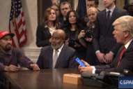 <em>SNL</em> Parodies Kanye's Meeting With Trump