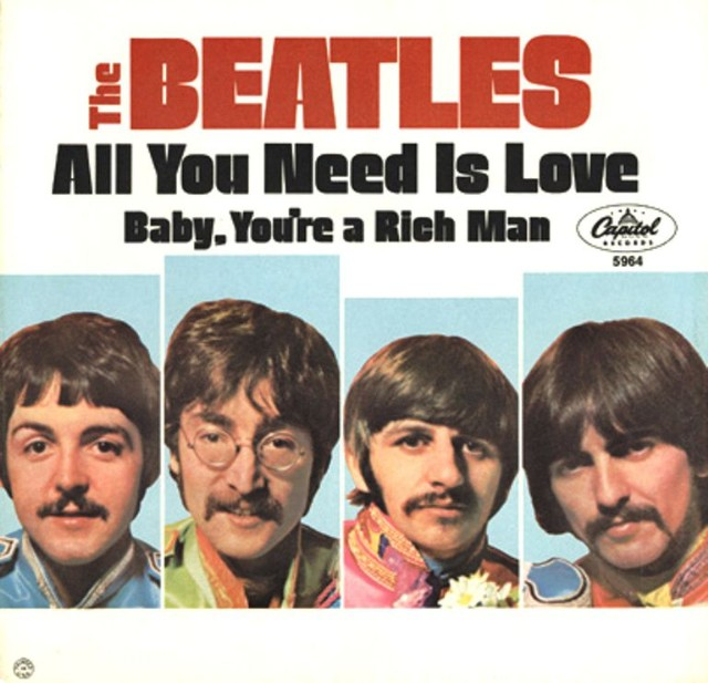 "The Number Ones: The Beatles' ""All You Need Is Love"" - Stereogum"