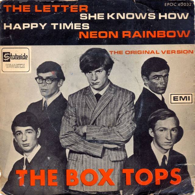 "The Number Ones: The Box Tops' ""The Letter""   Stereogum"