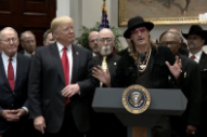 Kid Rock, Mike Love, And More (But Not Kanye) Join Trump For Music Modernization Act Signing