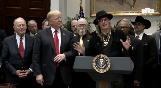 Donald Trump & Kid Rock