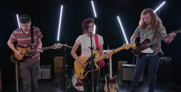 Illuminati Hotties Perform Live For Stereogum Session