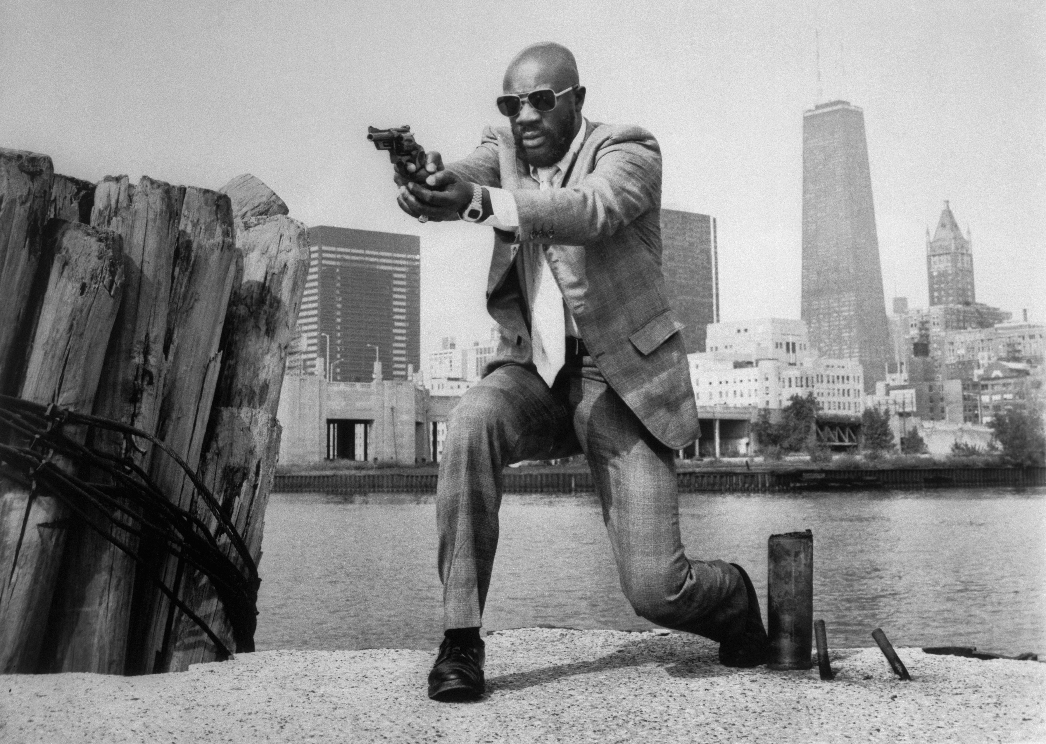 Isaac Hayes in Three Tough Guys