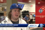 Domino's Delivery Guy Who Saved A Kidnapped Woman And Gave TV Interviews In A Taylor Swift Hoodie Got To Meet Taylor Swift Last Night