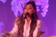 Watch Ariana Grande Sing &#8220;thank u, next&#8221; &#038; Trip On Her Heels On <em>Ellen</em>
