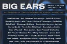 Big Ears 2019 Lineup