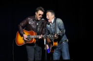 Bruce Springsteen Duets With Eric Church & Tells Dirty Jokes At Veterans Fundraiser