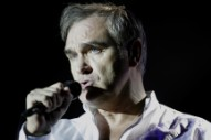 "Morrissey Reportedly ""Attacked"" Onstage In San Diego"