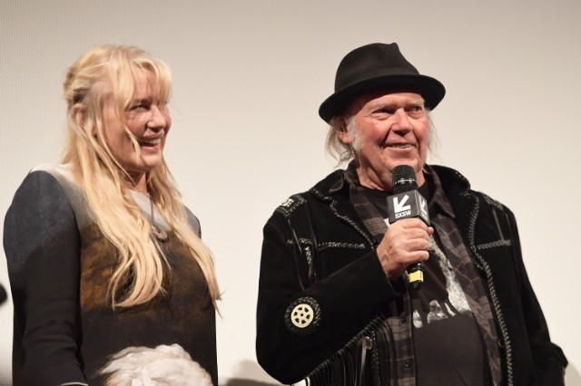 Neil Young x Darryl Hannah
