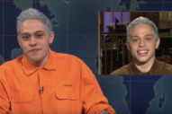 Pete Davidson Addresses Ariana Grande Breakup On <em>SNL</em> Weekend Update