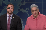Congressman Dan Crenshaw Trolls Pete Davidson With Ariana Grande Ringtone On <em>SNL</em> Weekend Update