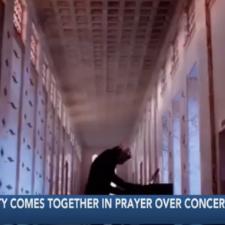 Texas Churchgoers Pray As Ghost Concert Approaches