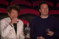 Watch Bob Dylan Drink Whiskey At The Circus On <em>Fallon</em>