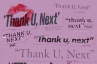 "Ariana Grande – ""thank u, next"""
