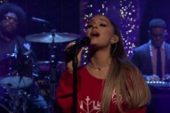 Watch Ariana Grande Sing &#8220;Imagine&#8221; Live For The First Time On <em>Fallon</em>