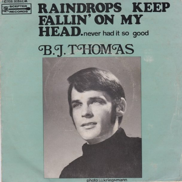 The Number Ones B J Thomas Raindrops Keep Fallin On