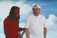 Watch Dave Grohl As The Devil In <em>Kimmel</em> Sketch With Billy Crystal