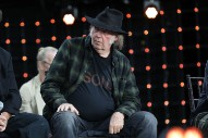 Neil Young Angry About Dylan Show Announcement, Will Fight Sponsor Barclays For Funding Fossil Fuels