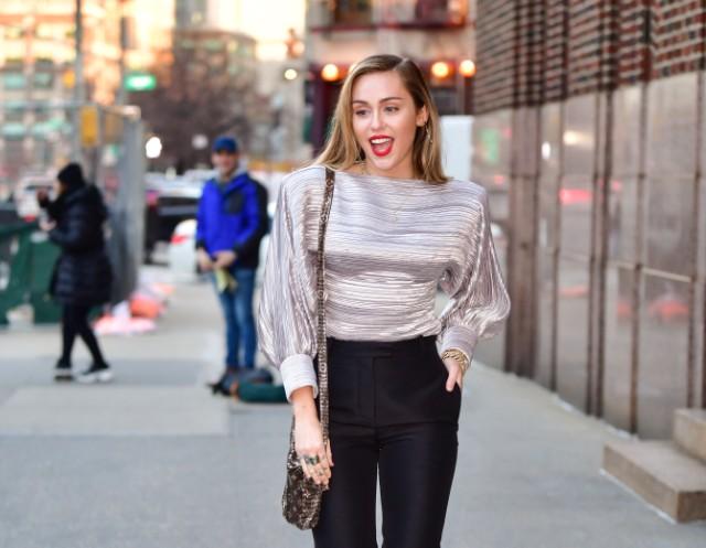 Celebrity Sightings in New York City - December 10, 2018