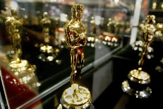 Oscar Statuettes For The 76th Academy Awards Displayed In Hollywood
