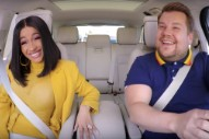 Watch A Genuinely Delightful Cardi B Do Carpool Karaoke With James Corden