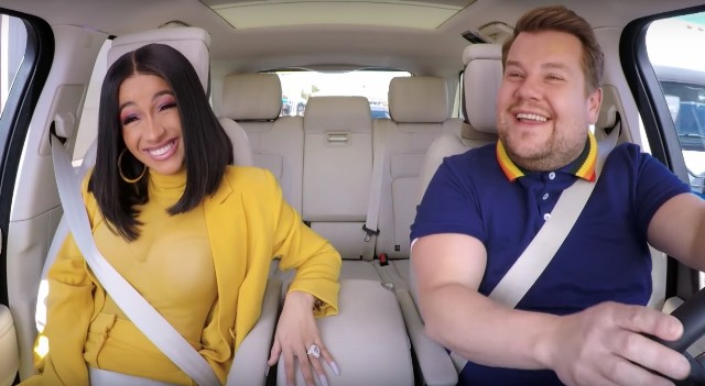 Cardi B Does Carpool Karaoke With James Corden Is Delightful Watch