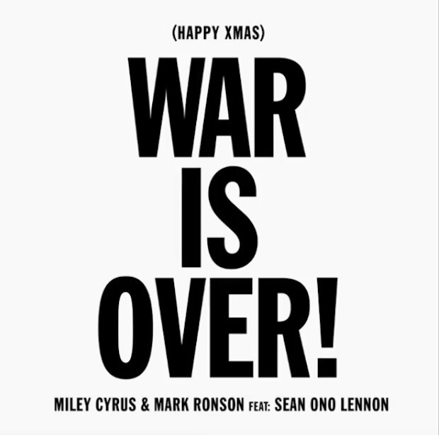 Miley Cyrus: 'War Is Over' Stream, Lyrics & Download