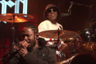 Watch Kendrick Lamar Join Anderson .Paak On <em>SNL</em>